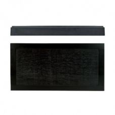 Bauscher Emotion Flat Presenter Melamine Stackable Platter in Black